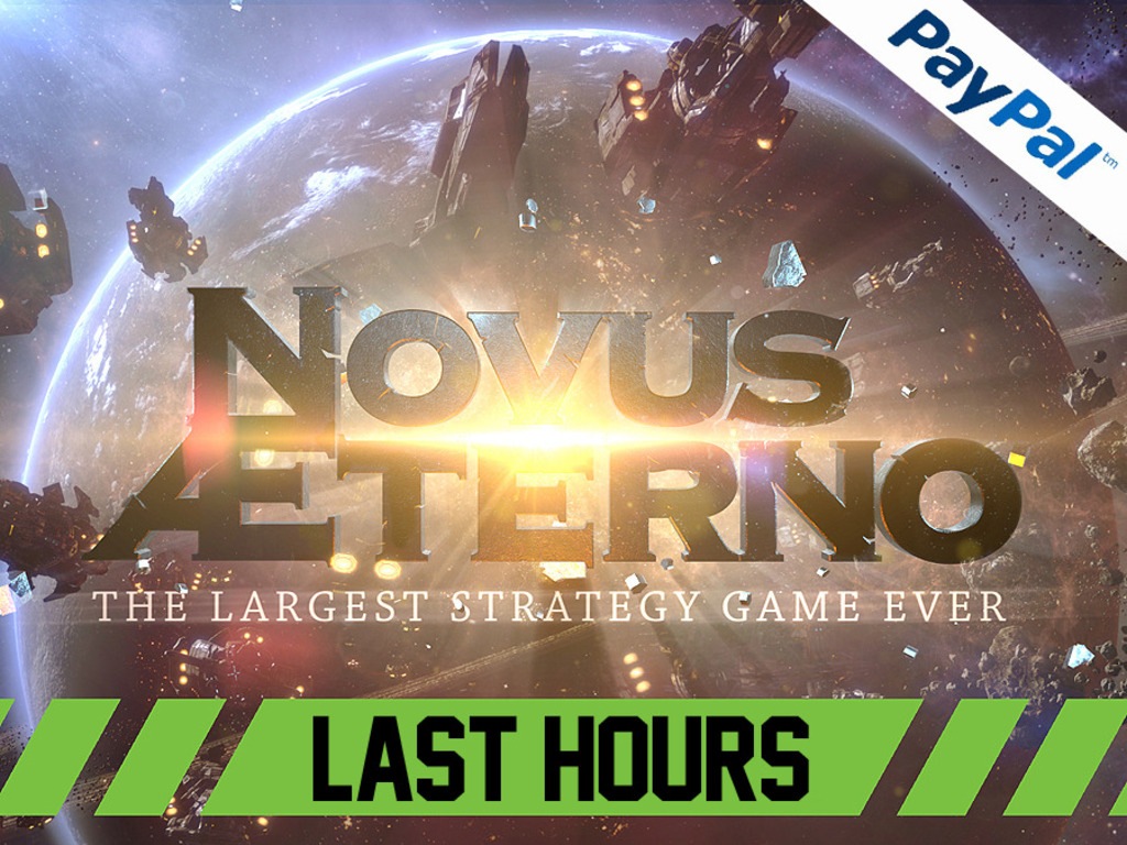 Novus AEterno: MMO 4X RTS The Largest Strategy Game Ever.'s video poster