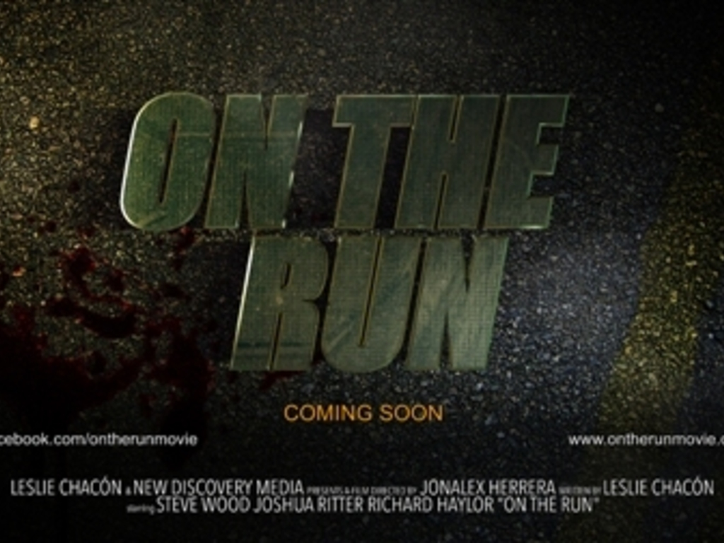 """""""...On The Run"""" A Short Film's video poster"""