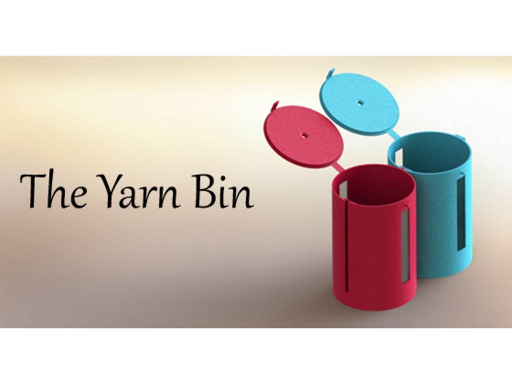 The Yarn Bin: a container to hold, control and store yarn's video poster