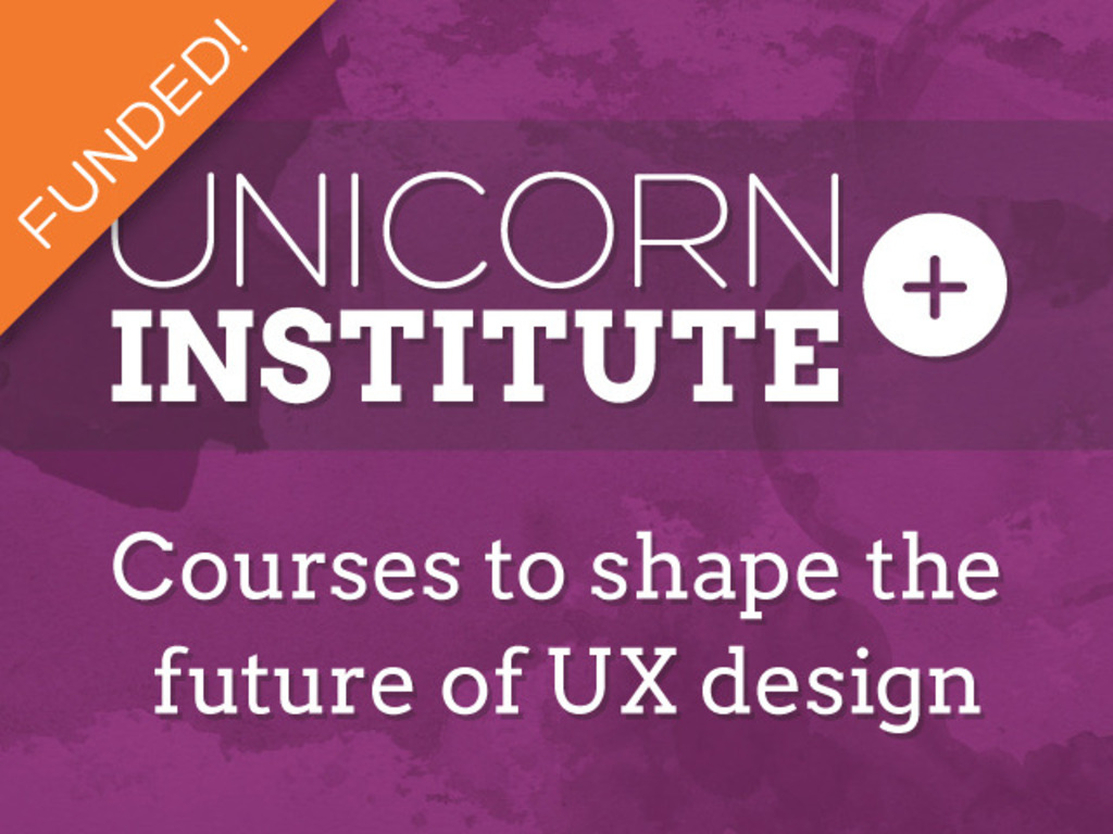 Unicorn Institute: Courses to shape the future of UX design's video poster