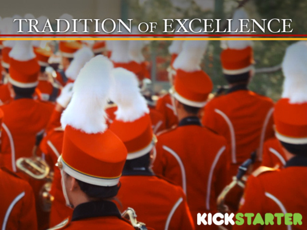 """""""Tradition of Excellence""""'s video poster"""