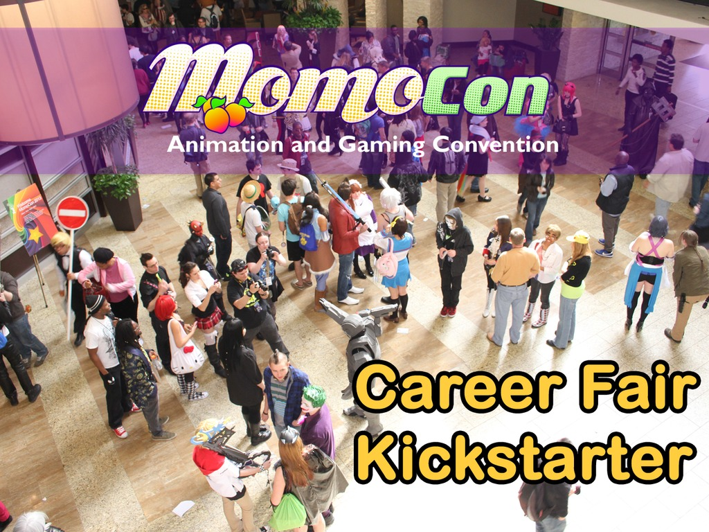 College and Game Career Fair hosted by MomoCon's video poster