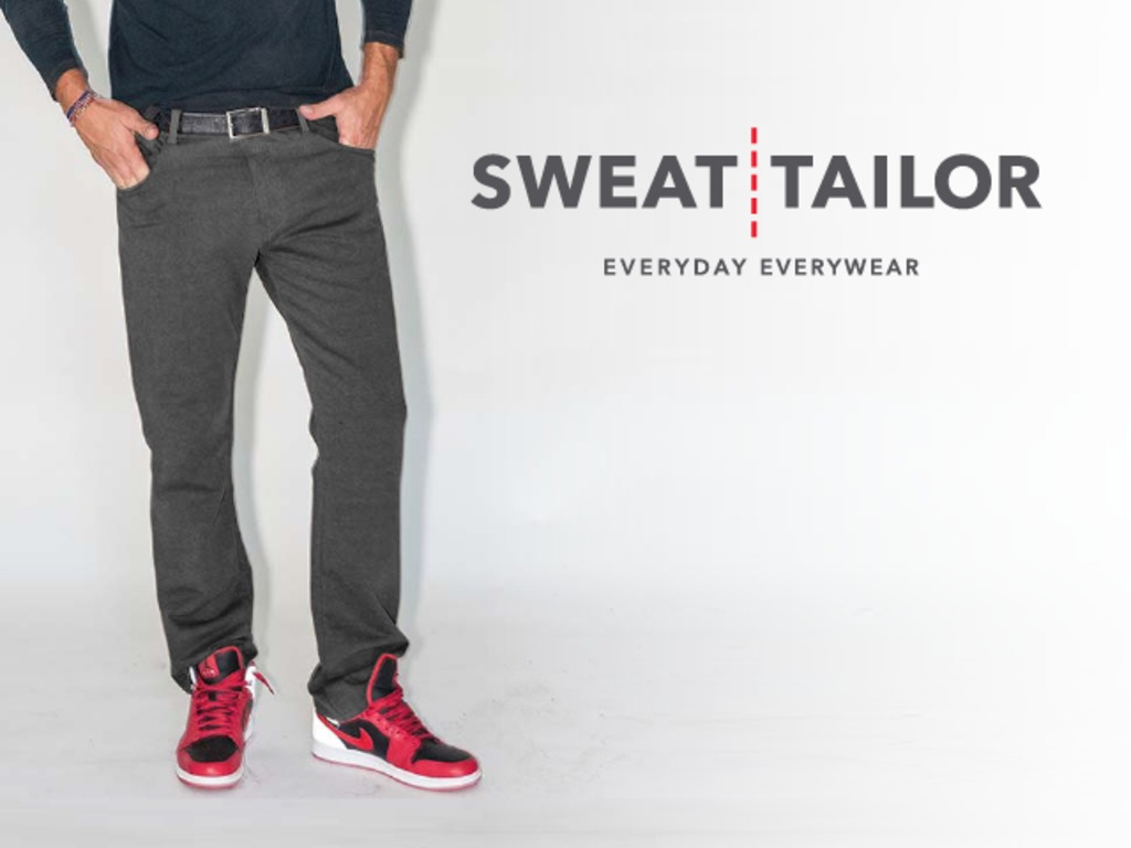 Sweat Tailor - The Ultimate Alternative to Denim Jeans's video poster