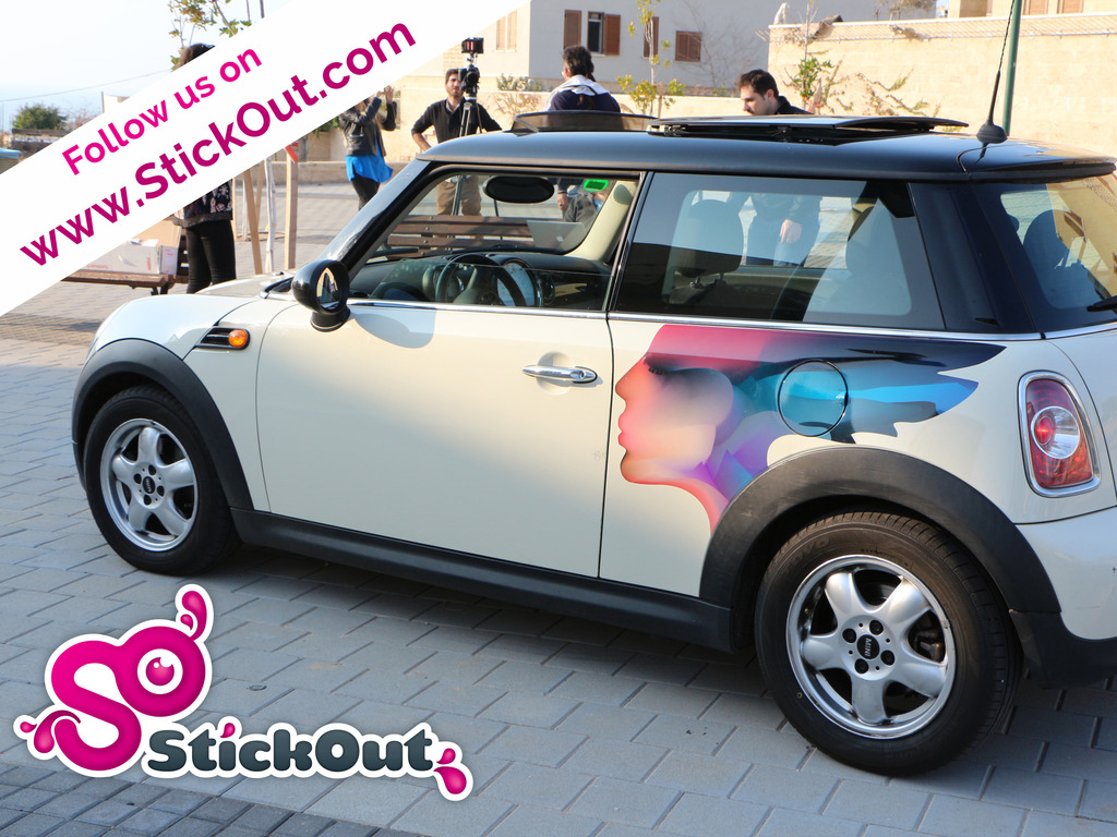 StickOut - Dress Up Your Car's video poster