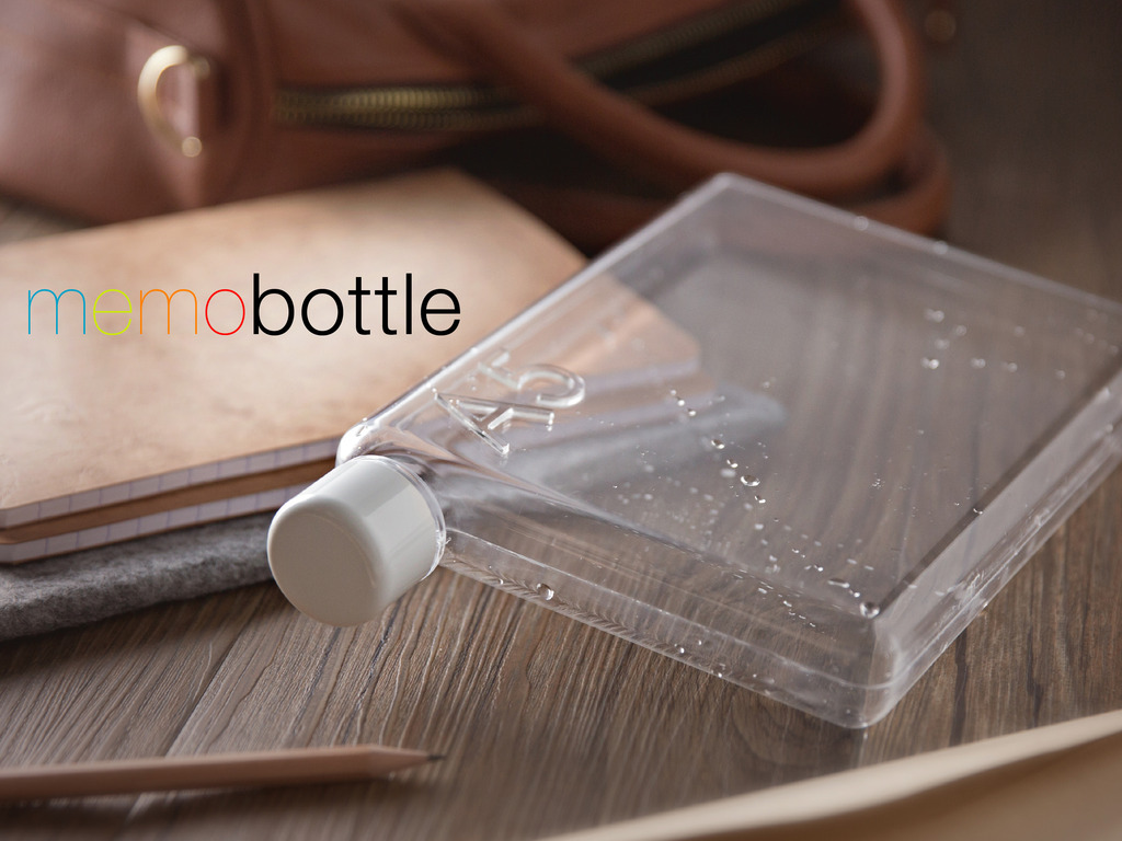 memobottle - A4, A5 & Letter Reusable Water Bottles's video poster