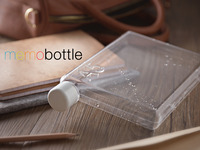memobottle - A4, A5 & Letter Reusable Water Bottles