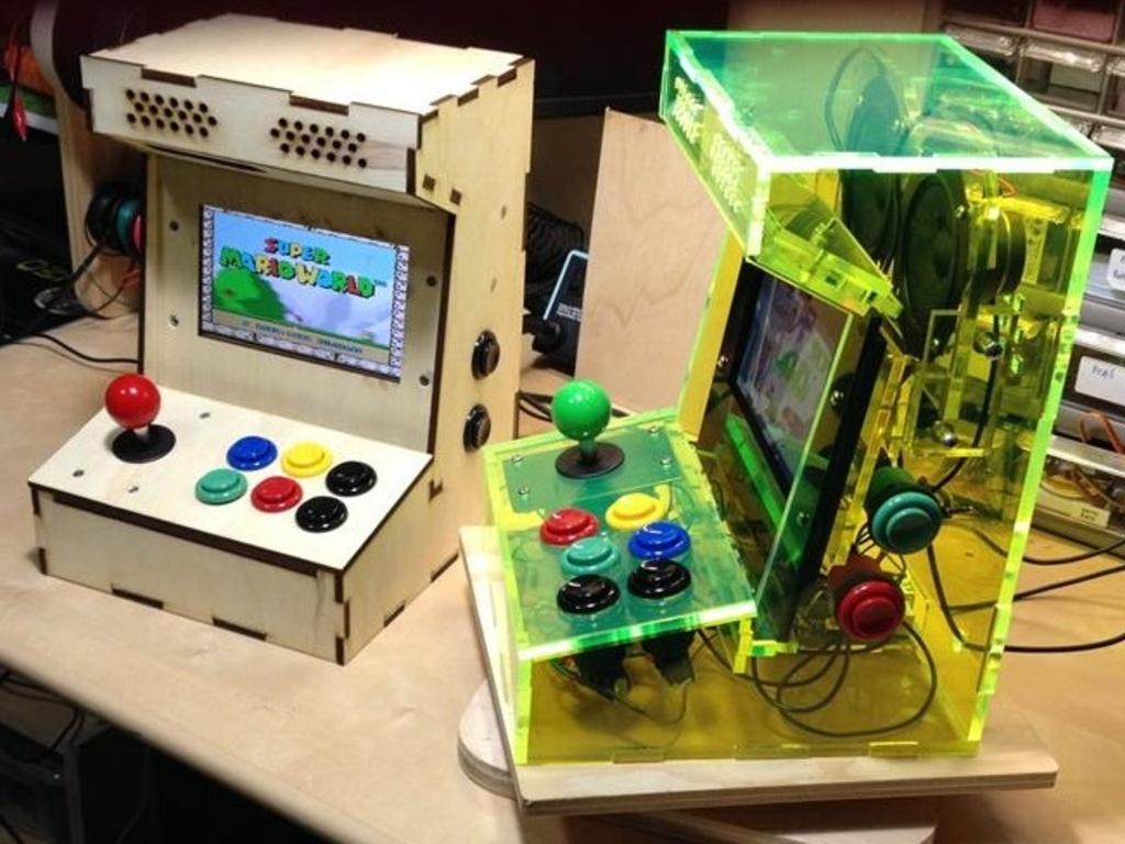 Porta Pi Arcade: A DIY Mini Arcade Cabinet for Raspberry Pi's video poster