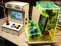 Porta Pi Arcade: A DIY Mini Arcade Cabinet for Raspberry Pi