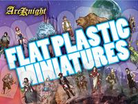 Flat Plastic Miniatures