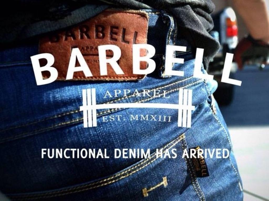 Barbell Denim: Functional denim has arrived.'s video poster