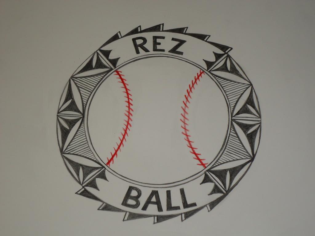 Rezball, the story of Pueblo Baseball's video poster