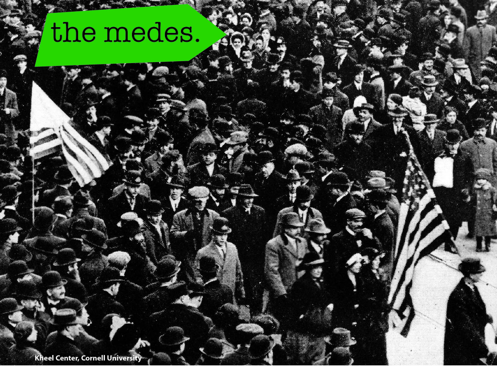 the medes magazine - issue one's video poster