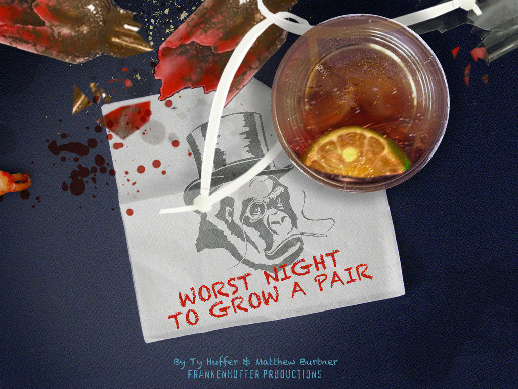 Worst Night To Grow A Pair - Frankenhuffer's EPIC short's video poster