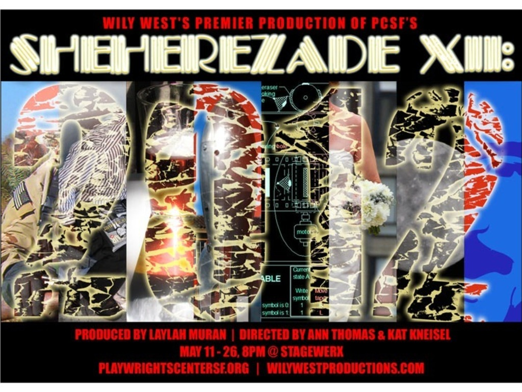 Wily West Production of SHEHEREZADE XII:2012 for PCSF's video poster