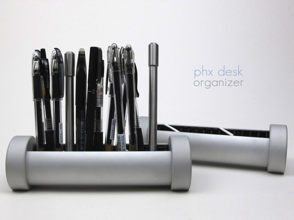 PHX Desk Organizer for pens + cords + more's video poster