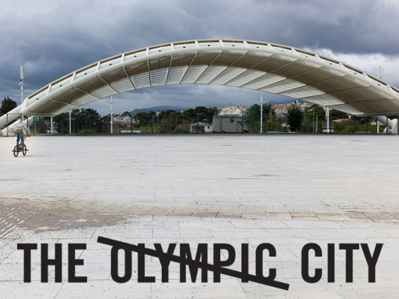 The Olympic City's video poster