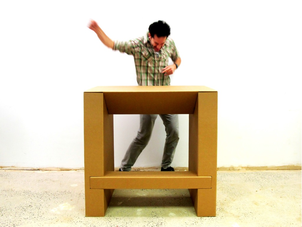 The Cardboard Standing Desk: Stand Up for Creativity's video poster