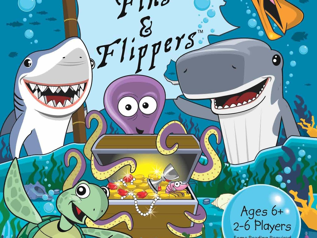 Fins & Flippers Game for Kickstarter's video poster