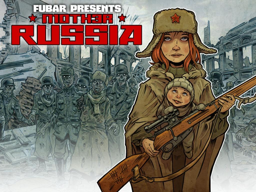 FUBAR: MOTHER RUSSIA's video poster