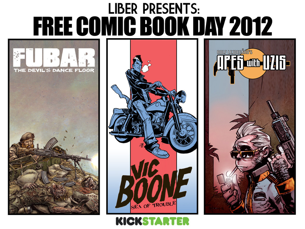 FUBAR PRESS/ 215 INK: FREE COMIC BOOK DAY 2012.'s video poster