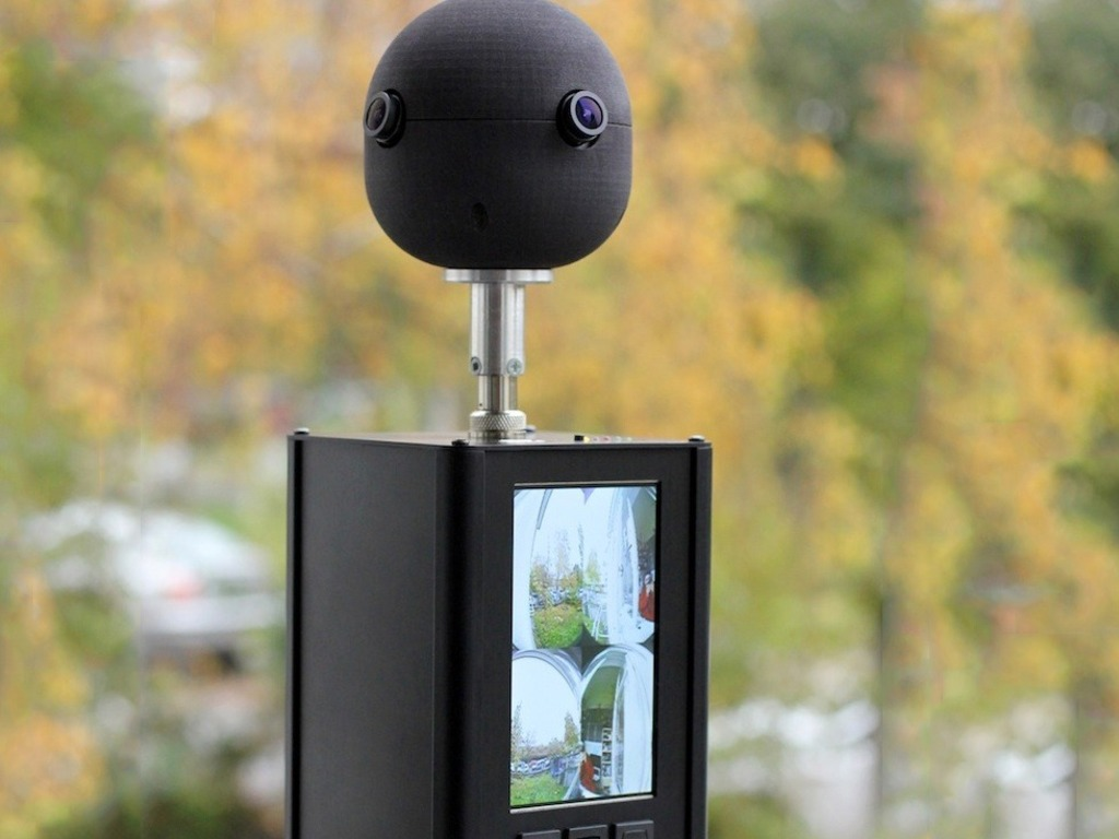 Sphericam — Breakthrough 360° Surround Video Camera's video poster