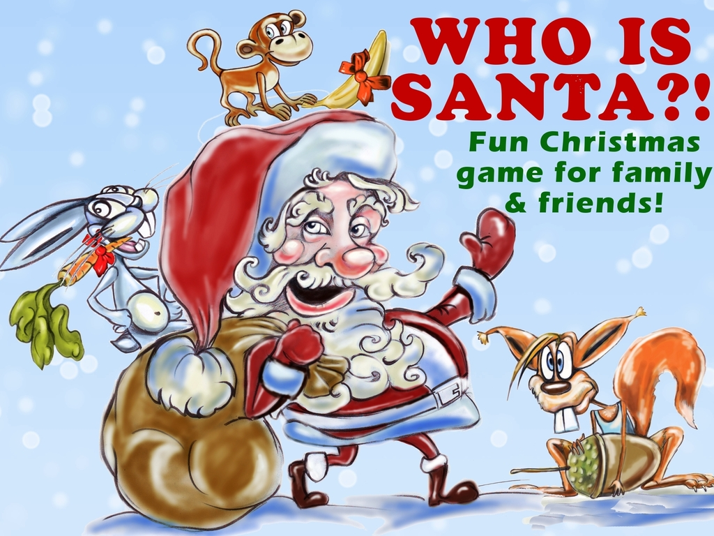Who Is Santa?! - fun Christmas game with Santa Cards's video poster