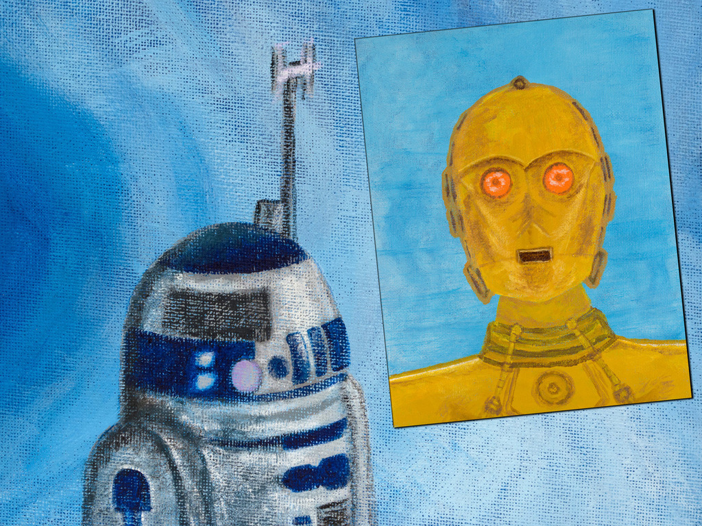 R2D2 & C3PO: These ARE the Droids You're Looking For!'s video poster