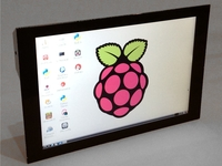 """PiTouch: 10"""" Touchscreen Monitor for Raspberry Pi / Mac / PC"""