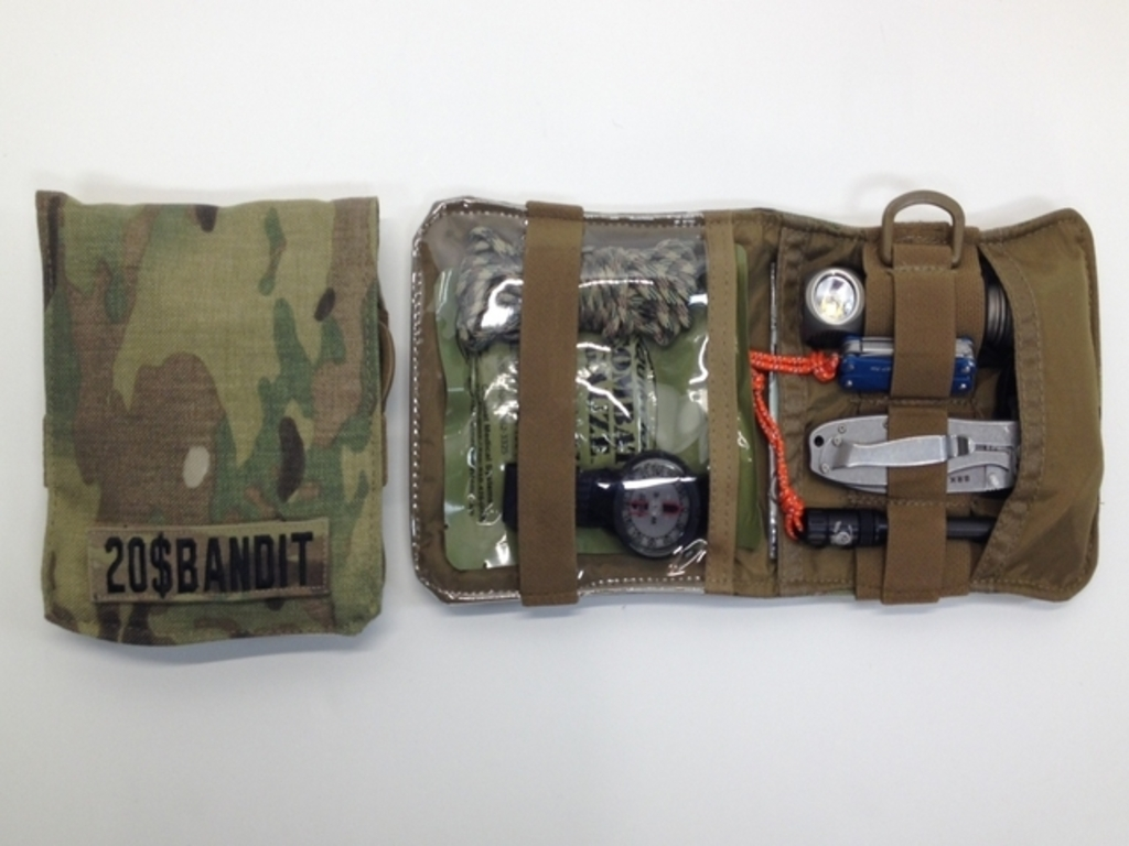 Mini Kit (MK-7) Tactical Multicam Nylon Gear Pouch's video poster
