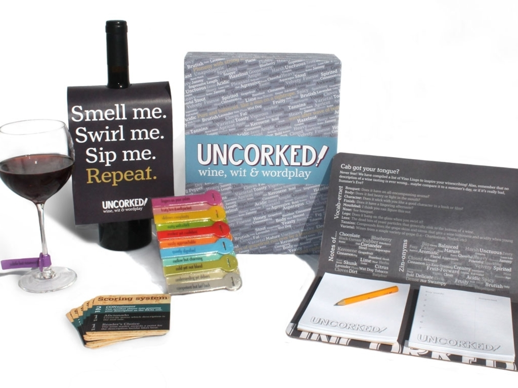 UNCORKED! The hilarious game of wine, wit & wordplay's video poster