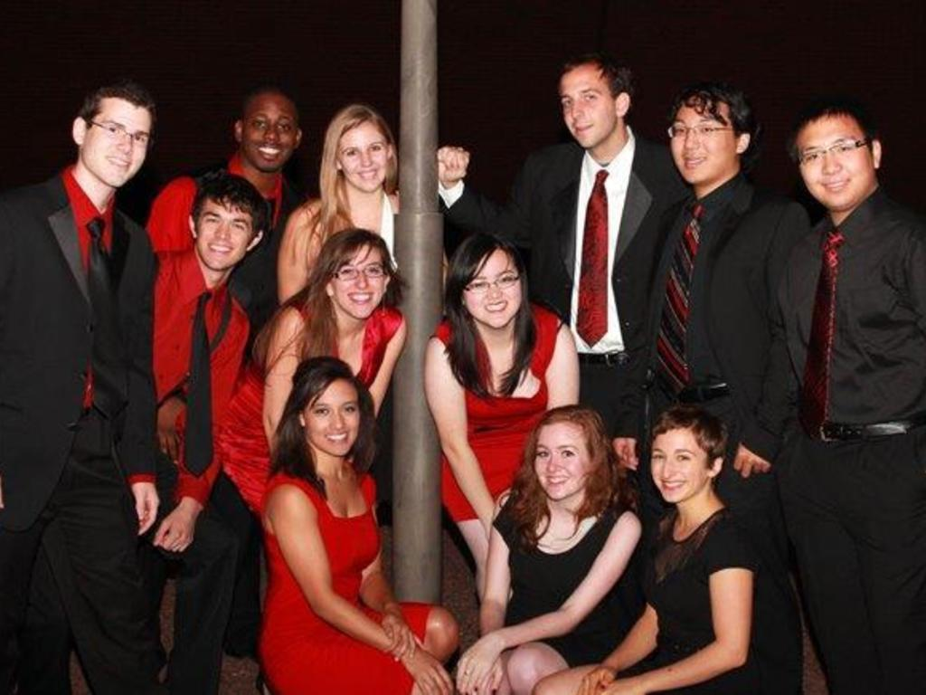 No Strings Attached a cappella presents: In Sync's video poster