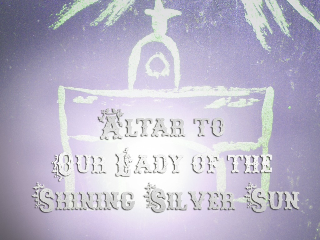 Altar to Our Lady of the Shining Silver Sun's video poster