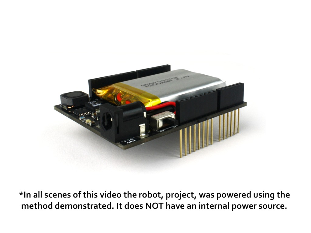The energyShield - Power for your Arduino Creativity's video poster