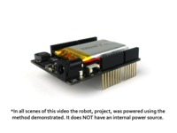 The energyShield - Power for your Arduino Creativity