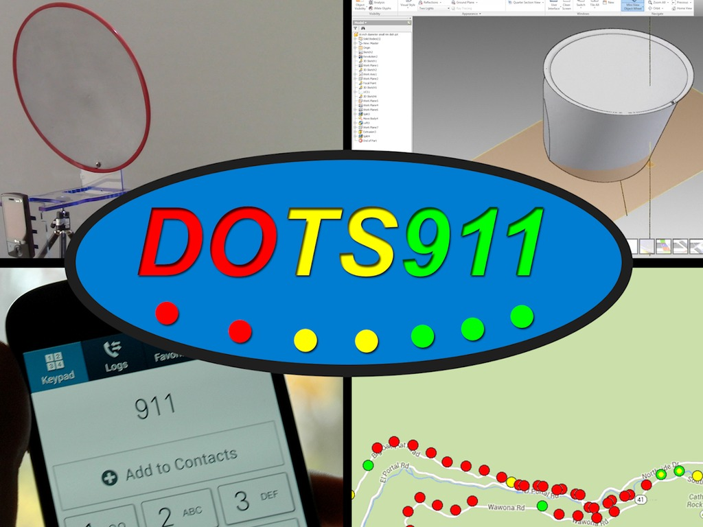 DOTS911: Mobile Phone Signal Finder and Enhancer (Canceled)'s video poster