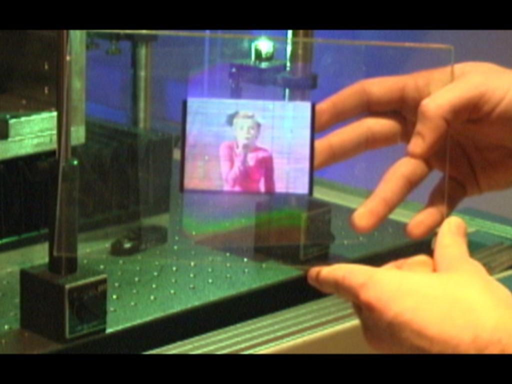 Litigram: Personal Holograms in Full-Color 3D's video poster