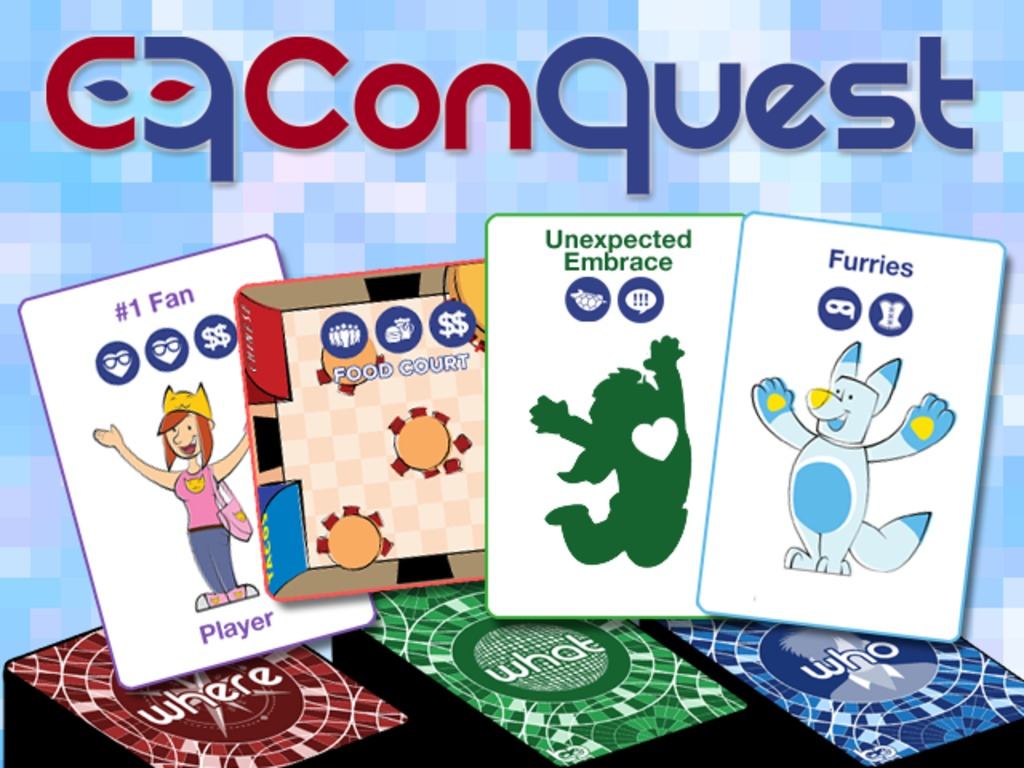 Con Quest: A Convention-themed Card Game (Canceled)'s video poster