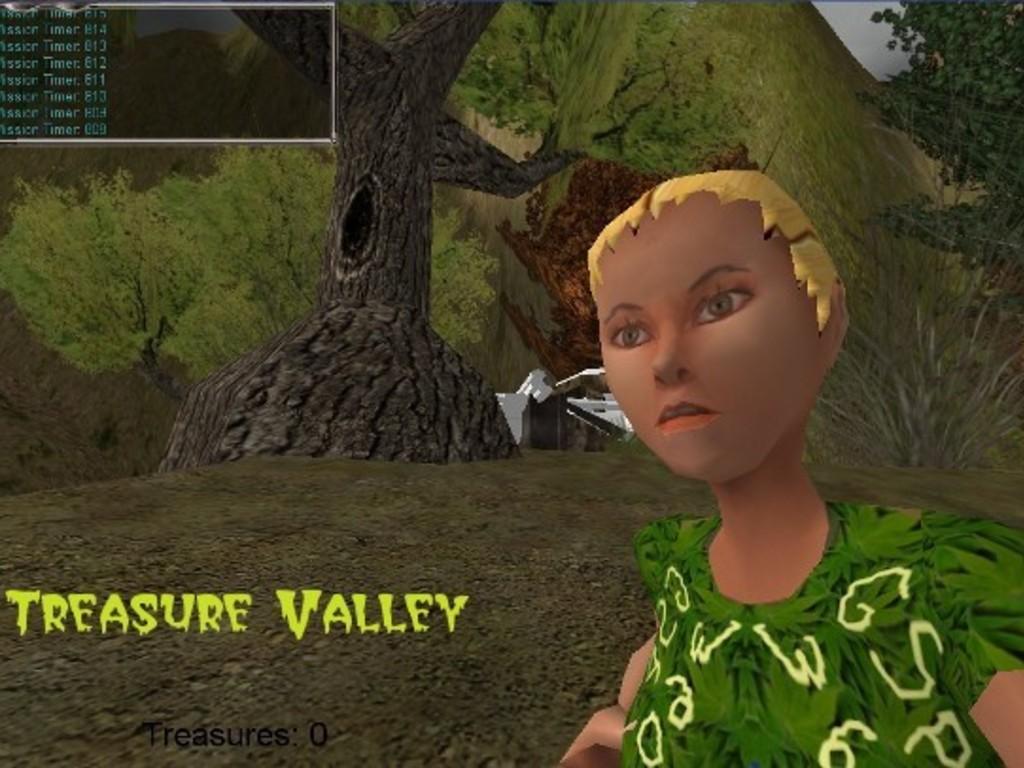 Treasure Valley:  3D-Fantasy Sci Fi Adventure Game's video poster