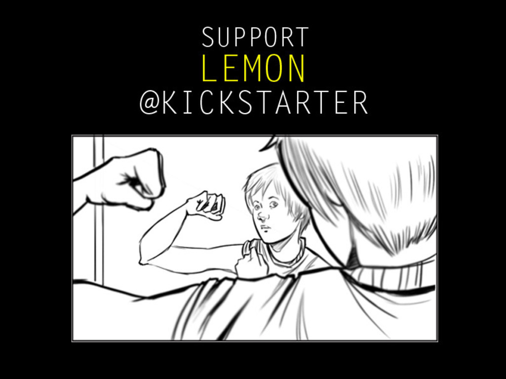 Lemon's video poster