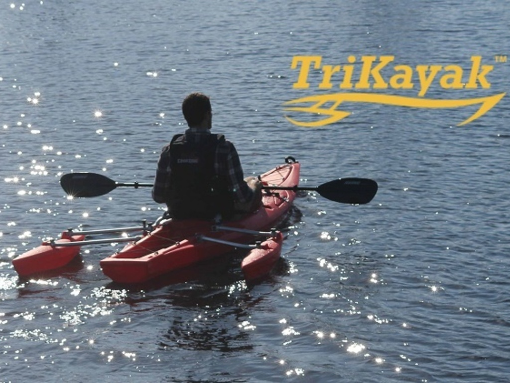 TriKayak XS-1: The Adjustable Outrigger Kayak's video poster