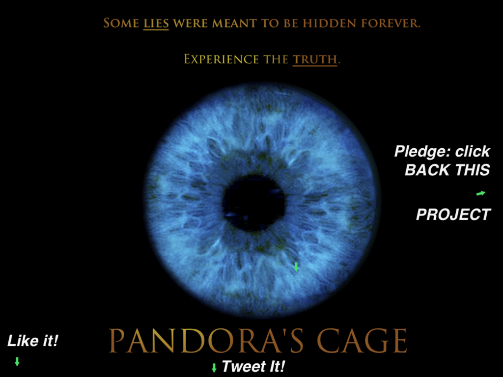 Pandora's Cage-Help Fight Human Trafficking!'s video poster