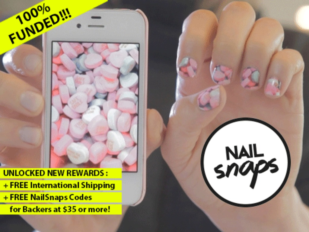 NailSnaps: Turn Your Photos Into Nail Polish Stickers's video poster