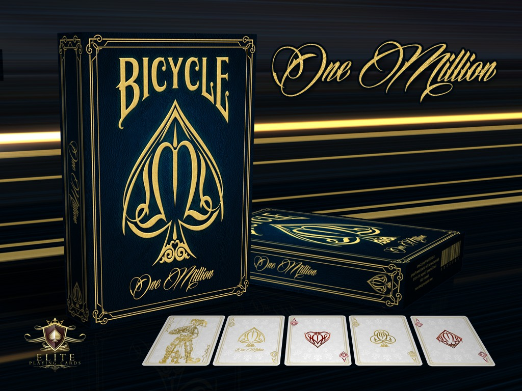 One Million Bicycle® Playing Cards Deck's video poster