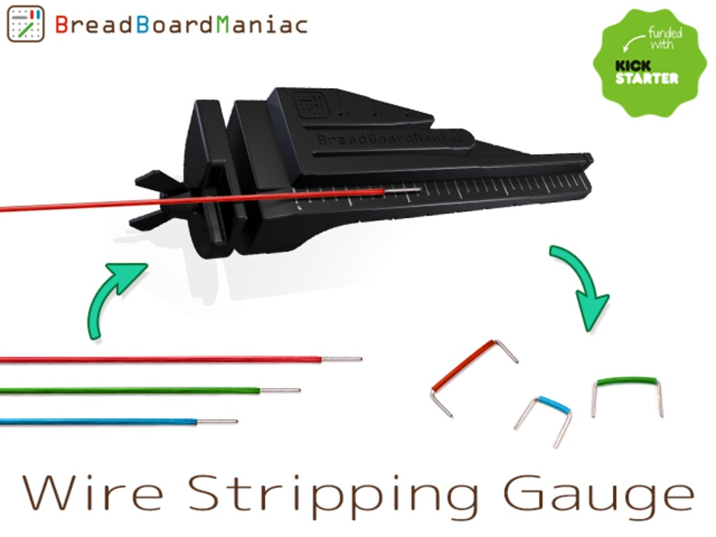 Stress Free Great Tool for Breadboard:Wire Stripping Gauge!!'s video poster