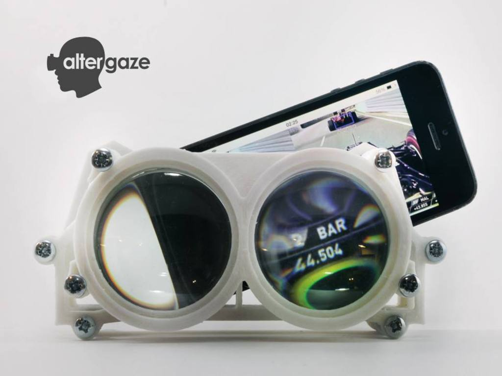 Altergaze: 3D printed VR Goggles for Smartphones's video poster