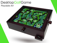 Desktop Golf Game  SUPERFANTASTIC