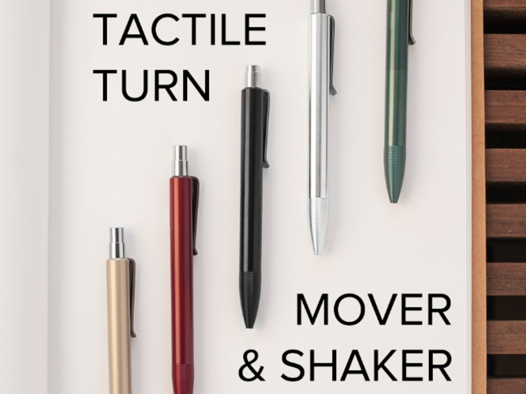 Tactile Turn Mover & Shaker Pens's video poster