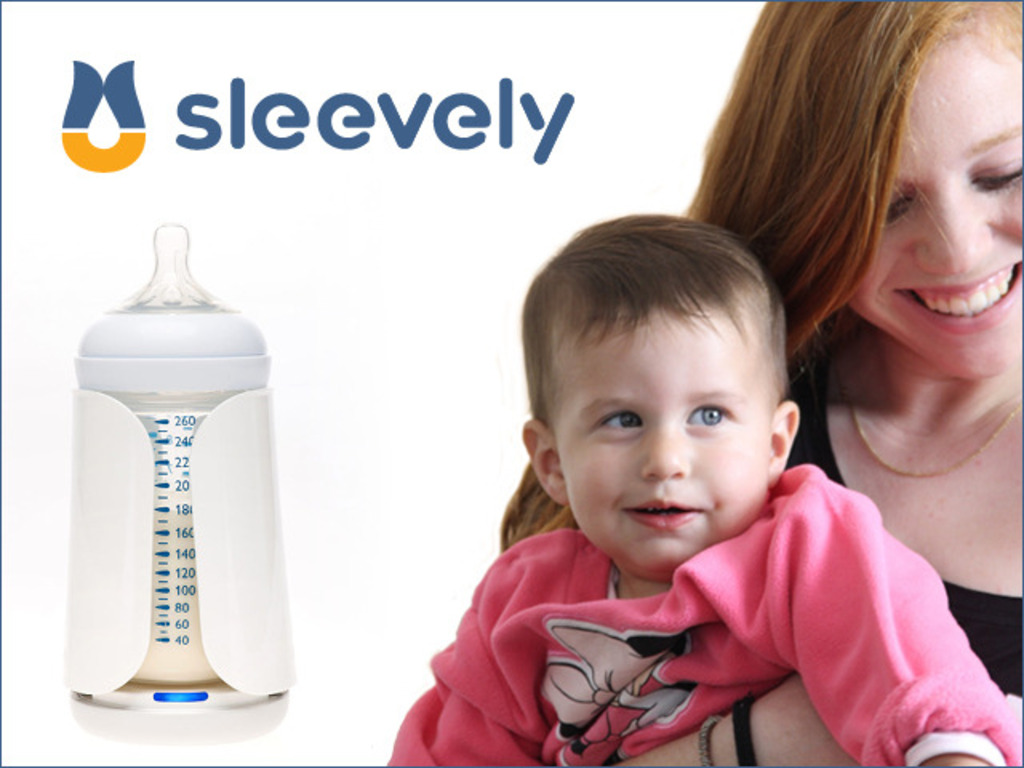 Sleevely - track your baby's nutrition anywhere, anytime's video poster