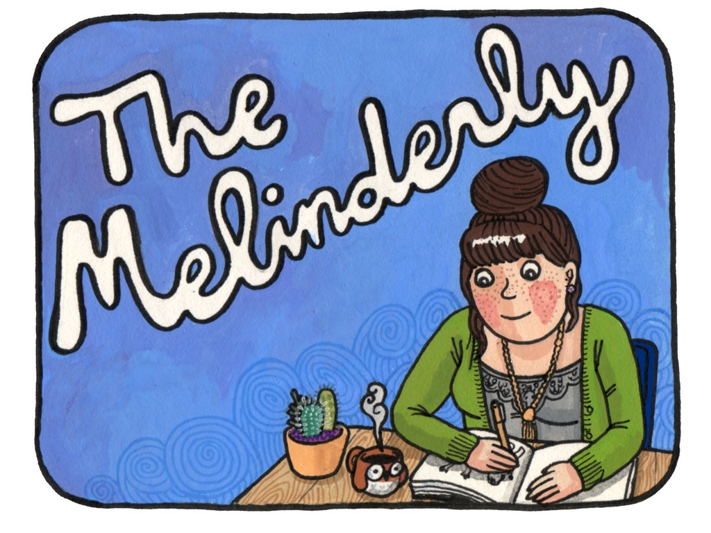 THE MELINDERLY: a comic zine's video poster