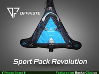 OFFPISTE: An innovative sports pack, accessible in motion